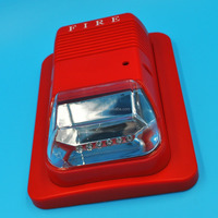 Power separatefire alarm strobe lights