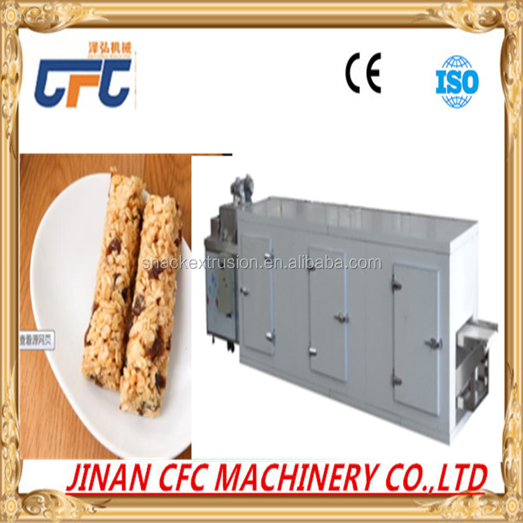 High output snack machine to make peanut candy / cereal bar maker