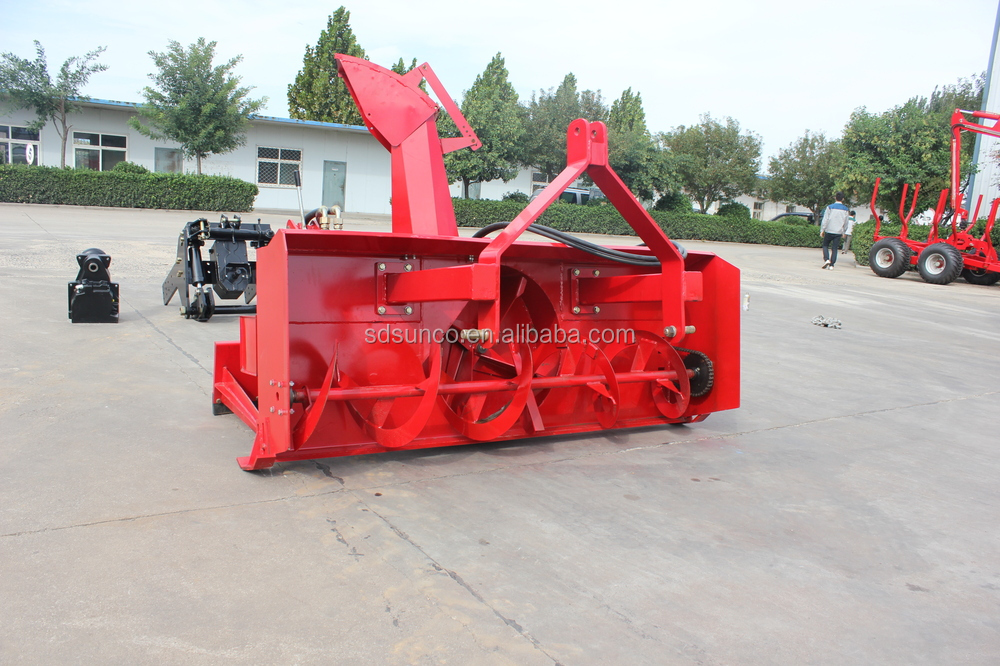 Tractor/ATV/UTV mounted snow blower/Snow Thrower for 20 - 120 hp Exported to Russia,Canada,USA,Norway,German