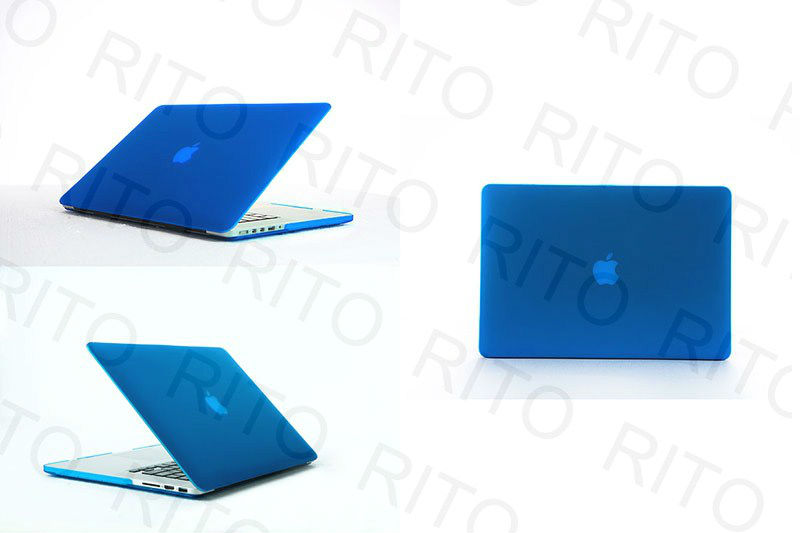 Frosted Case Cover For Macbook unibody 13 inch,with retail package