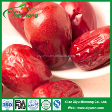 Red dates dried Chinese hetian large red jujube/dried dates fruit