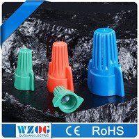 CE ROHS Certificated 22-16 16-14 12-10 AWG HP Type Nylon Double Wing Screw on Wire Connector