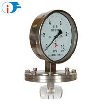 "4""(100mm) Polycarbonate Windows All SS Diaphragm Seal Pressure Gauge Manometer"