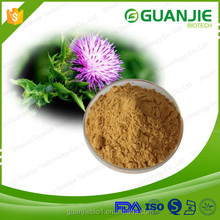13 Years GMP Manufactory Supply Silymarin 80% ,Silybum Marianum,Milk Thistle Extract