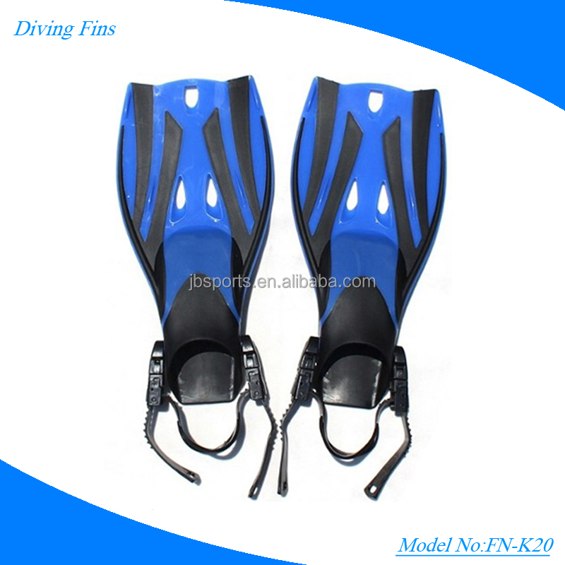 Profession safty Kids WaterSport Free Diving Fins, kids swimming flippers