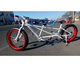 new style two seater surrey tandem bike with fat tire