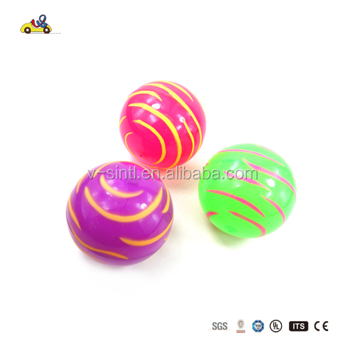 Water wave decorative light up bouncing ball