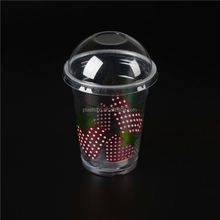 24oz plastic disposable soft drinking container/ a disposable pp plastic cup for cold drinking/ plastic drinking cup