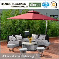 Outdoor Furniture Garden Sets Round Sectional Sofa