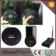 Waterproof Coaster Pager With Lcd Screen Paging System For Coffee Shop