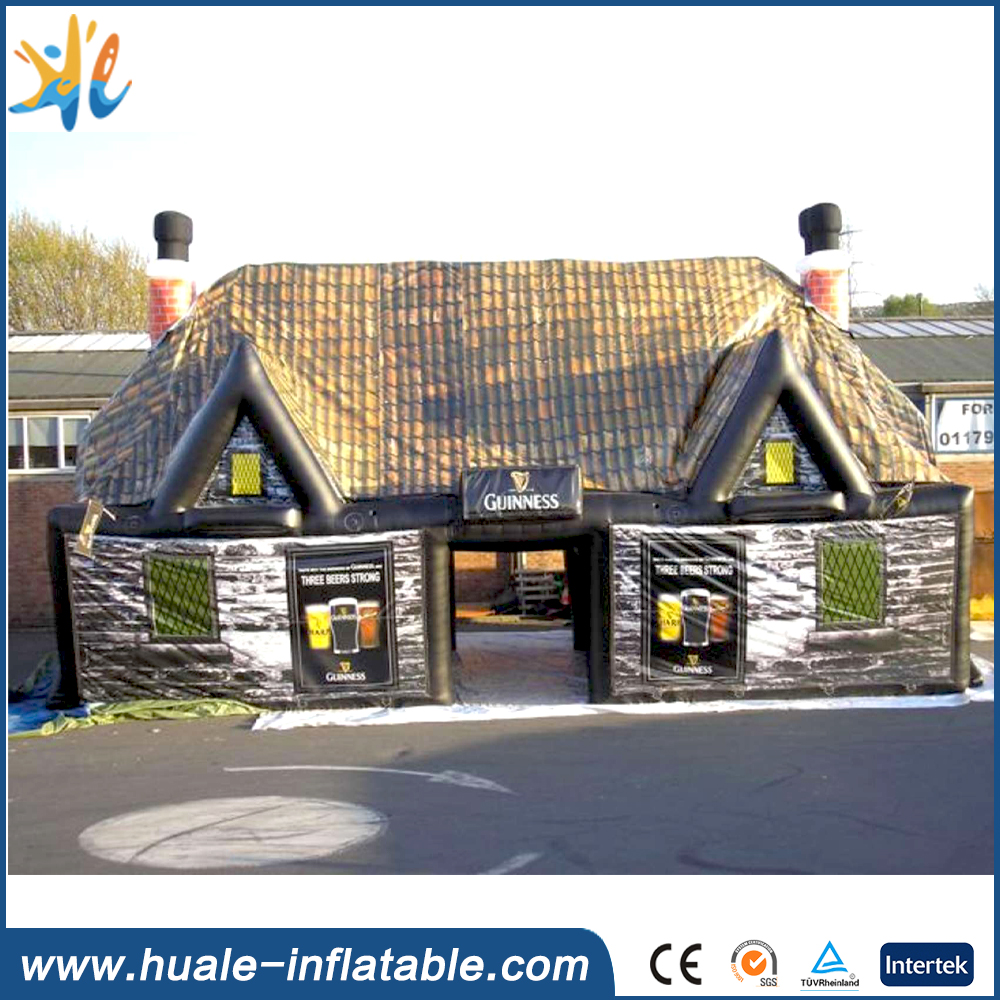 New Design Log Cabin Inflatable House Tent For Event
