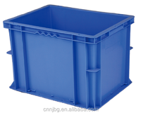 high quality 100% new PP plastic stackable logistic container used in supply chain for vegetable fruit patato