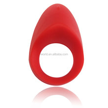 Magic sex toy finger ring with rubber ring sex