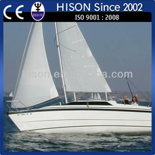 China manufacturing Hison 26ft personalyacht sails
