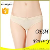 Trendy low rise new products simple nude design thongs