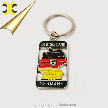 OEM Factory direct price Germany souvenir keychain