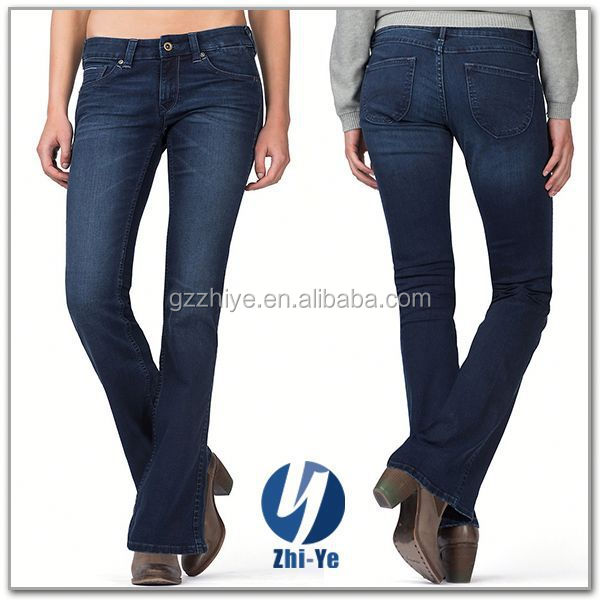 new style fashion denim jeans brand for women