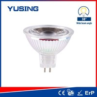 100 Degree LED Light Bulb Parts COB LED Bulb MR16 5W LED 12V Bulbs