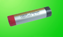 16600 3.7v lithium electronic cigarette battery