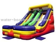 Hot sale commercial inflatable dry slide for kids playing