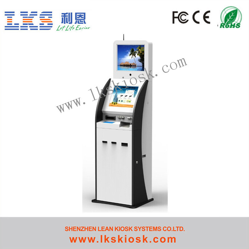 Kiosk Payment Thermal Printer Kiosk With Webcamera