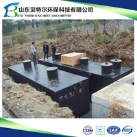 5000L small domestic human sewage water disposal plant, widely used in camps, office building, etc.
