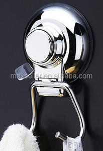 Heavy Duty Suction Cup Hooks Shower Accessory Stainless Steel and Chrome