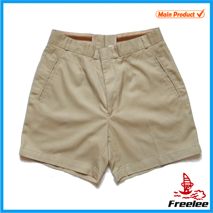 2016 wholesale khaki shorts, bavarian high quality chino shorts