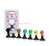 cute gift music earphone Splitter with suction stand for sharing music from mobile phone 2jacks