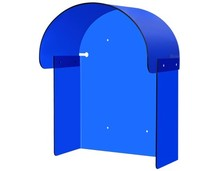 Telephone Acoustic hood Waterproof telephone booth Telephone Roof