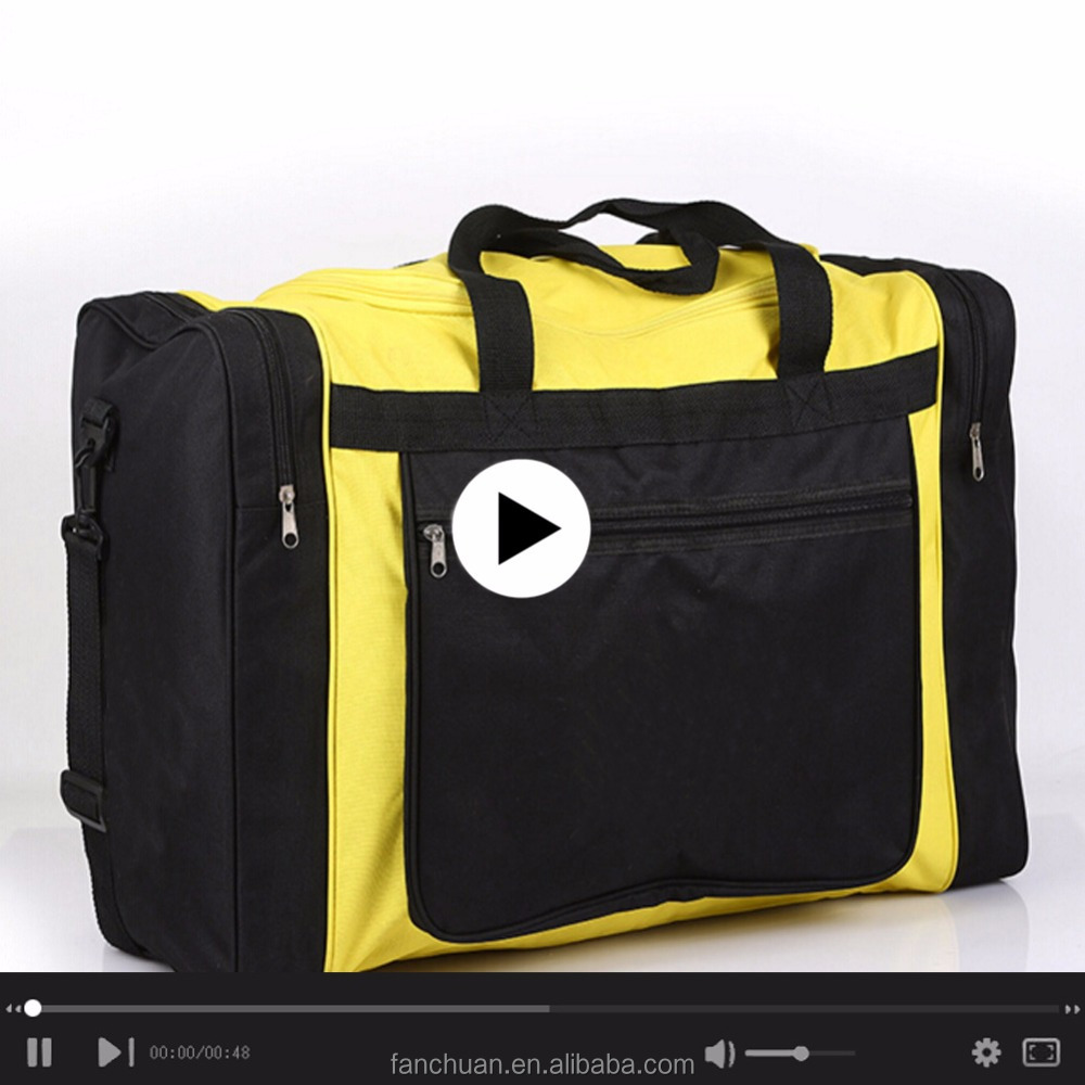 China Polyester Customized Cheap Travel Luggage Duffle Bag