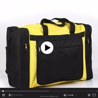 China Polyester Customized Cheap Travel Luggage Duffle Bag