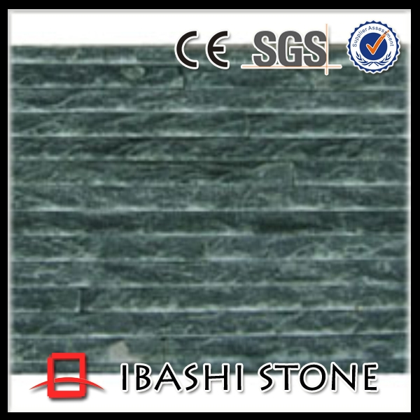 Chinese slate factory natural stone green cladding wall