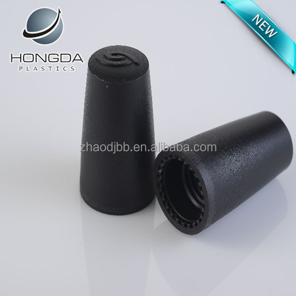 B802 black round cover for nail polish