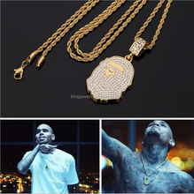 2017 Latest Fashion Hip Hop Cuban Link APE HEAD Chain Necklace