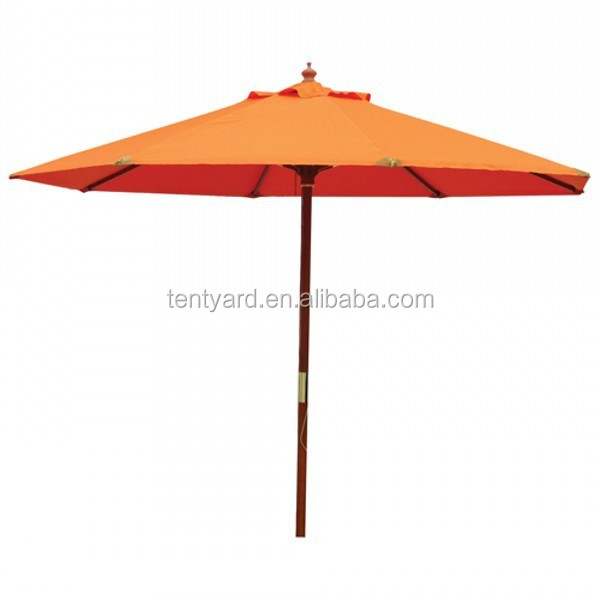 Wholesale hotel umbrella outdoor patio umbrella garden parasol