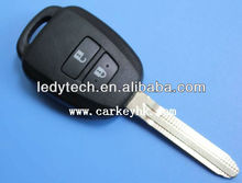New arrival Toyota 2 buttons remote key shell toy43