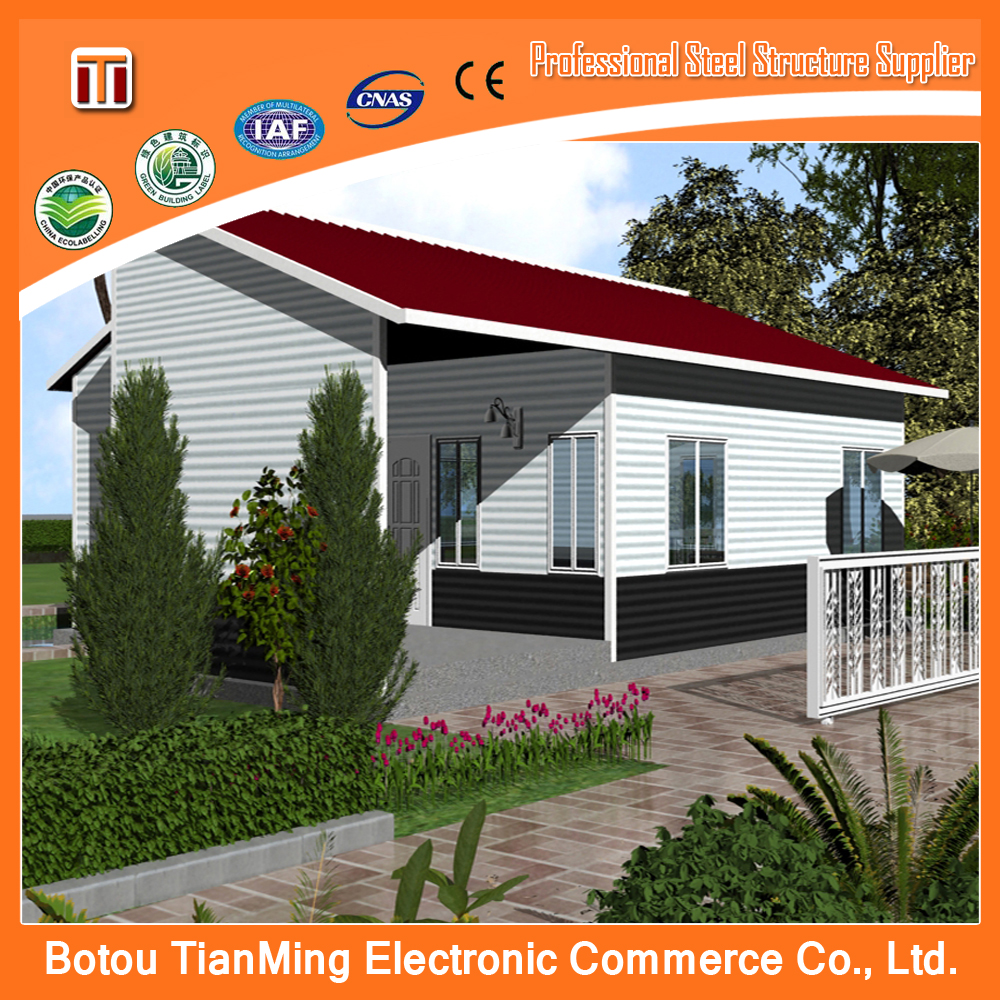 china Movable bath hotel good quality sandwich panel prefab house