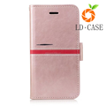 Hot sale top quality leather phone case for iphone8 plus