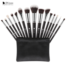 DUcare DF1503 original beauty needs personal care set 15pcs brush makeup