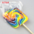 Big rainbow swirl lollipops