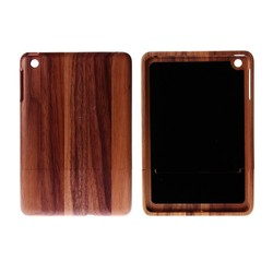 Luxury Natural Wood Case For Apple iPad Mini Cases Bamboo Wood Hard Back For Apple iPad Mini 2 Retina