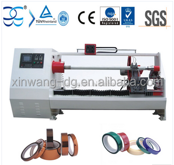 Kapton Tape Masking Tape roll cutter machine