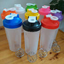 Amazon Hot Selling Customized Advertising Bottle Protein Shake Bottle Printed Logo Bottle