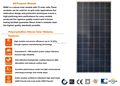 RS6S-M Series 300W-330W Mono Solar Panel Price Used in on-grid or off-grid