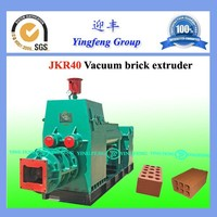 Professional brick making process! JKR40 clay brick making process, high output process of making clay bricks