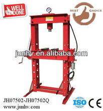 20 ton hydraulic shop press with gauge