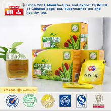 Korea wholesale body cleanse tea,aloe slimming tea, skin beauty detox tea
