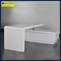 modern wood TV cabinet TV stand table for LCD TV