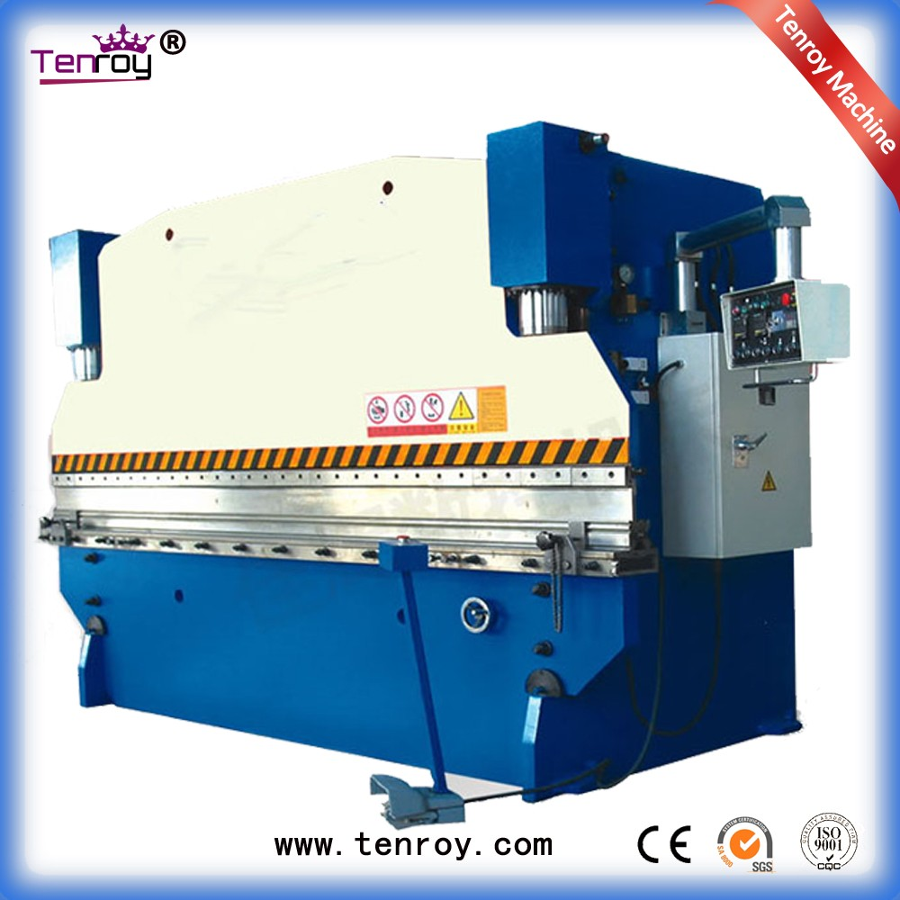 Tenroy pan brake folder,cnc faceting machine,wc67k hydraulic servo cnc press brake